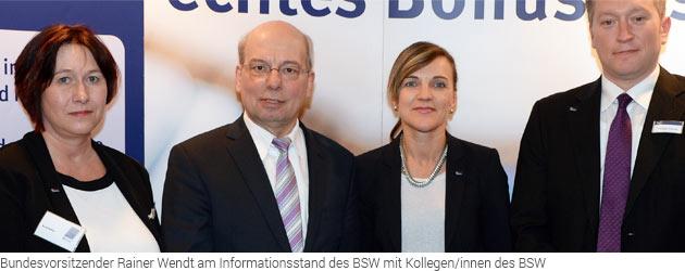 Bundeskongress der Deutschen Polizeigewerkschaft - BSW war vor Ort : Bundeskongress der DPolG