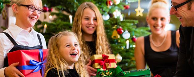 Präsente-Tipps für einen gelungenen Weihnachtsabend : Geschenke-Trends