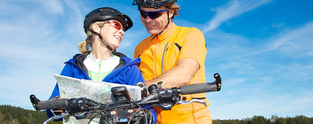 Die Auswahl an Fahrradtouren mit dem E-Bike ist riesig : Touren-Vielfalt pur