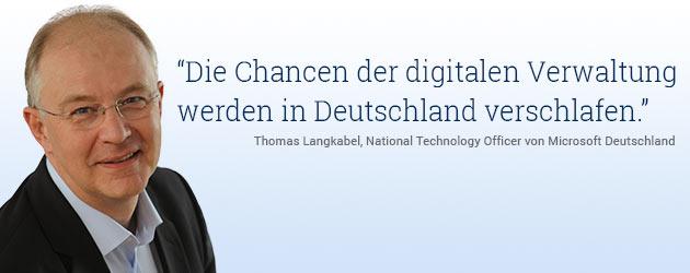 : Digitalisierung in der Verwaltung