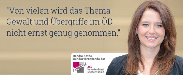 Fotograf: Friedhelm Windmüller : Gewalt gegen Beschäftigte im ÖD