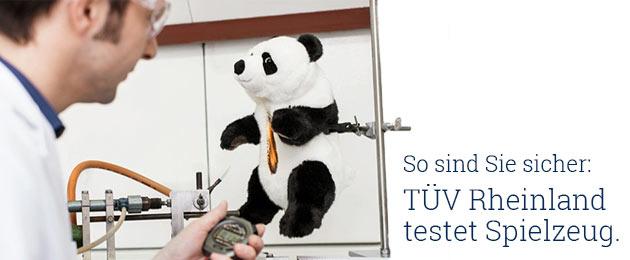 : TÜV Rheinland testet Spielzeug