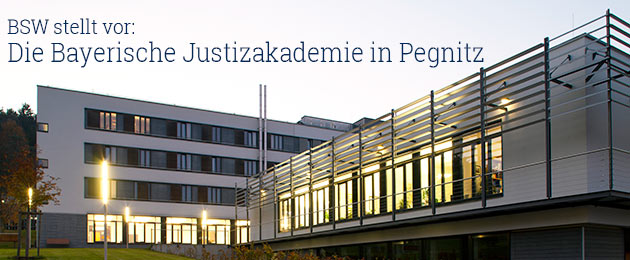: Bayerische Justizakademie (BJA) in Pegnitz