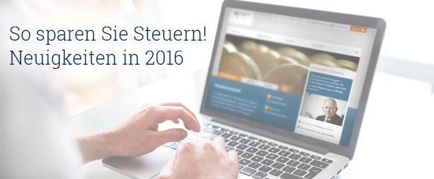 : Aktuelle Steuertipps & Neuerungen