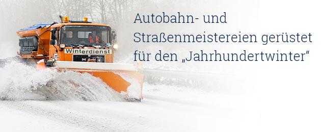 : Autobahn-Winterdienst